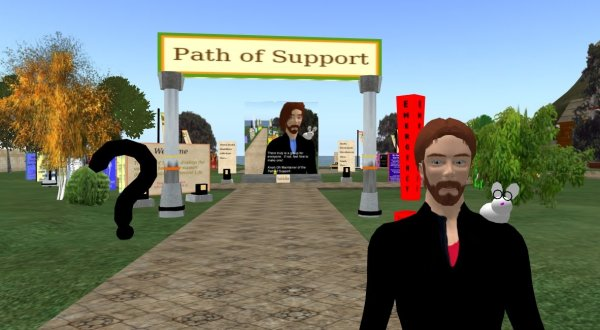 Path of Support entryway with Knoh Oh, avatar