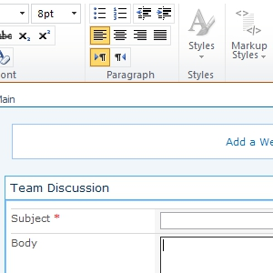 SharePoint Edit Input
